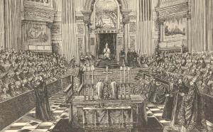 Das Erste Vatikanische Konzil (Vaticanum I).